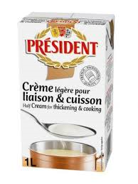 Cooking cream president - Cooking cream president