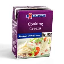 Cooking cream Emborg - Cooking cream emborg