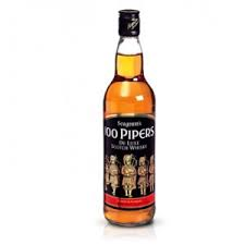 100 Piper Whisky - 100 Piper Whisky 1 litre