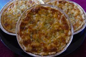 Onion & Bacon Pie - Onion & Bacon Pie 1 portion