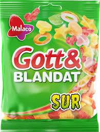 Malaco Gott & Blandat Sur - Malaco Gott & Blandat Sur 150g