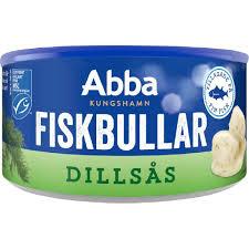 Fiskbullar i dillsås - Fiskbullar i dillsås