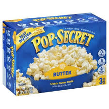 Popcorn microwave 3 pack - Popcorn 3 pack