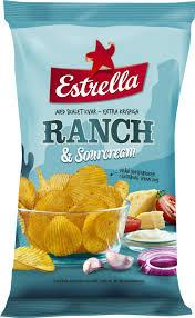 Ranch sour cream Estrella - Ranch estrella chips