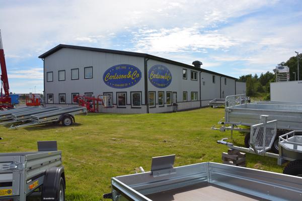 Carlsson & Co lokaler i Falkenbergs