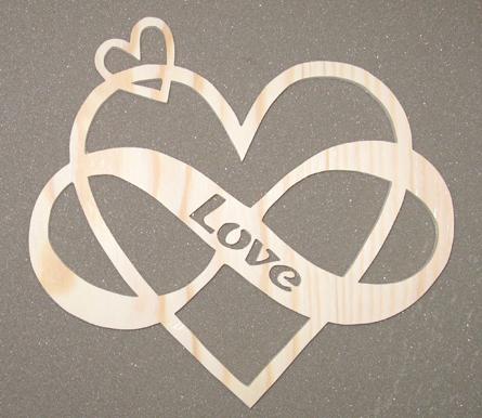 Evighetshjärta Love