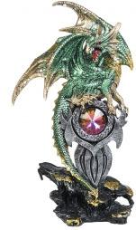 Drake med kristall grön - Drake med kristall grön