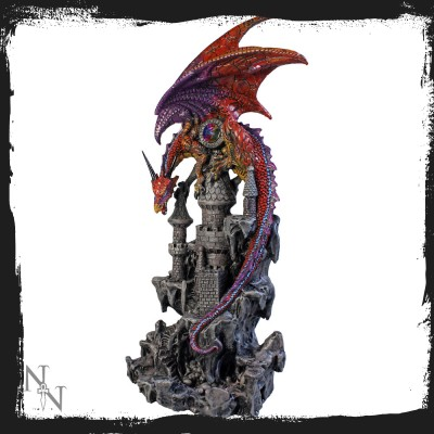 u2471g6 dragon of castle 33 cm