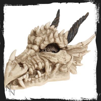 al50057 dragon skull 20 cm