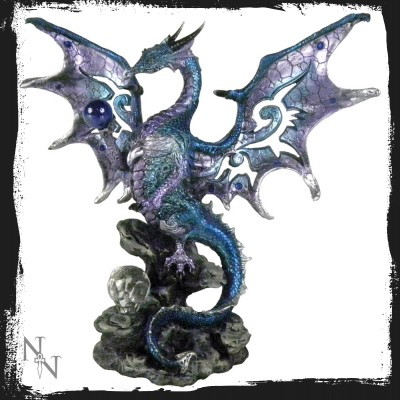 al50262 Blue dragon protector 20,5 cm