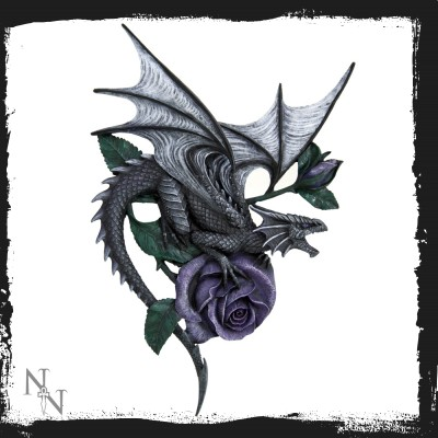 b0517b4 Dragon beauty wall plaque 40 cm