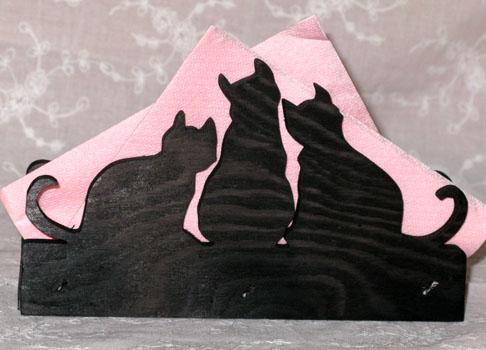 Tre katter