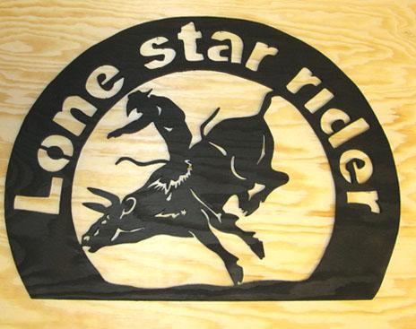 Lone star rider Tjur