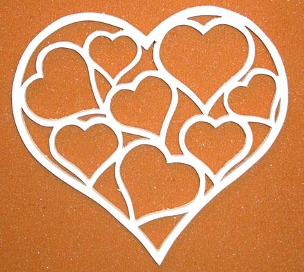 Hjärta med småhjärtan
