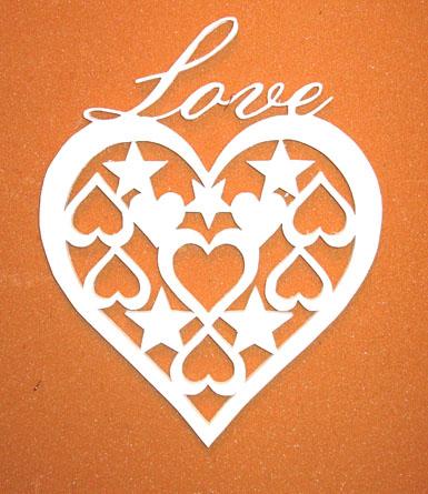Hjärta med småhjärtan 2