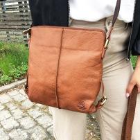 Shoulderbag Medium Tan Demoex