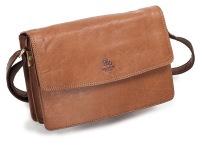 Flap Handbag Tanfärgad. Demoex