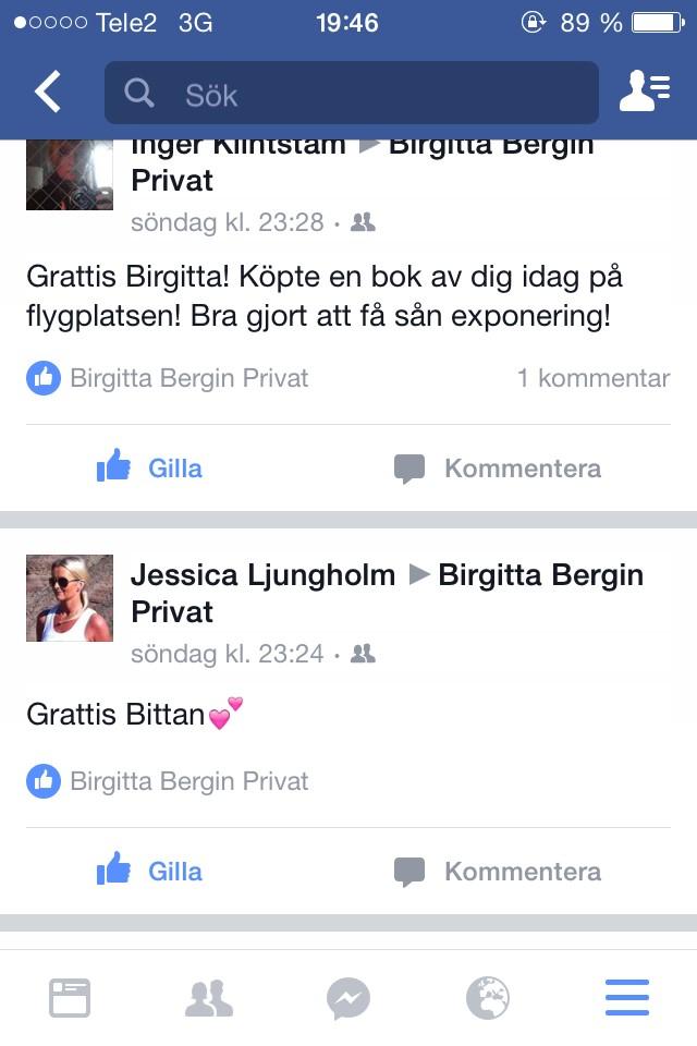 skriva grattis på facebook GRATTIS FRÅN FACEBOOK | Ketchup of the day skriva grattis på facebook