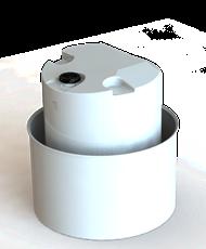 Art.nr 11016 för 1000 lit. Mått D1300 H 820 mm.