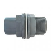 Tangenomf. utv gäng - Lim - Tankgenomföring PVC 20*25*3/4