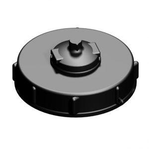 150 mm. lock med ventilation -