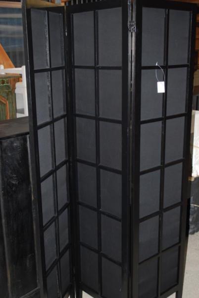 Välkända Vikskärm svart eller vit | Bali Inredningsbutiken PH-48