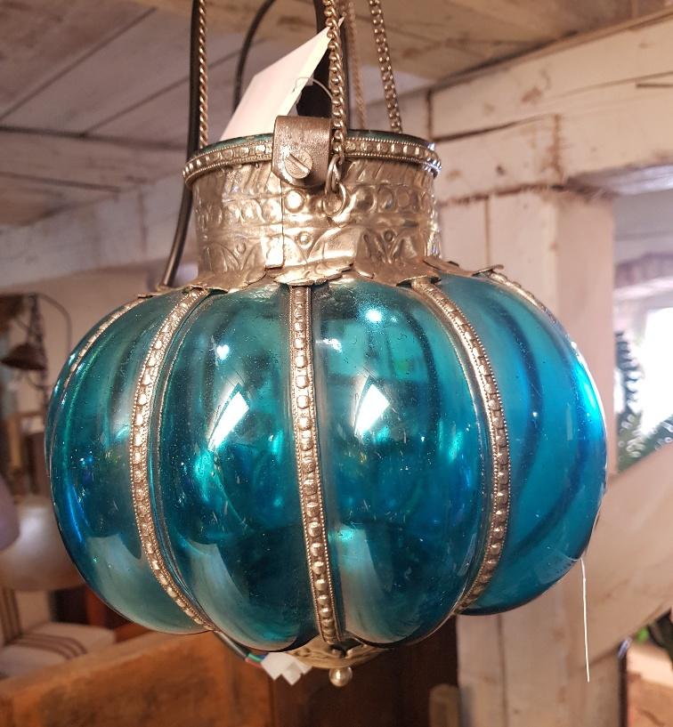 turkos lampa