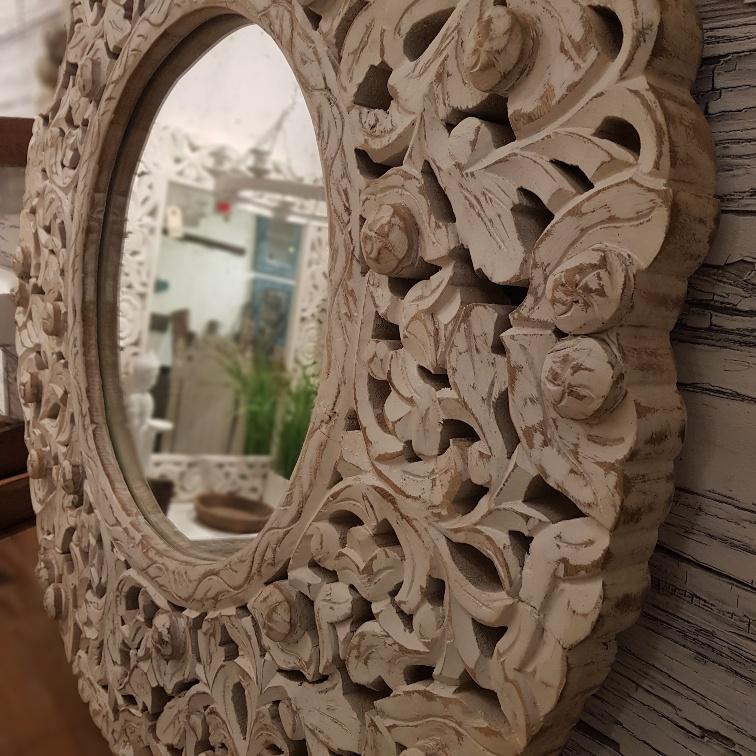 handsnidad spegel