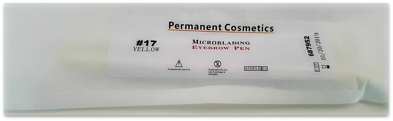 Microblading engångsskaft nr 17