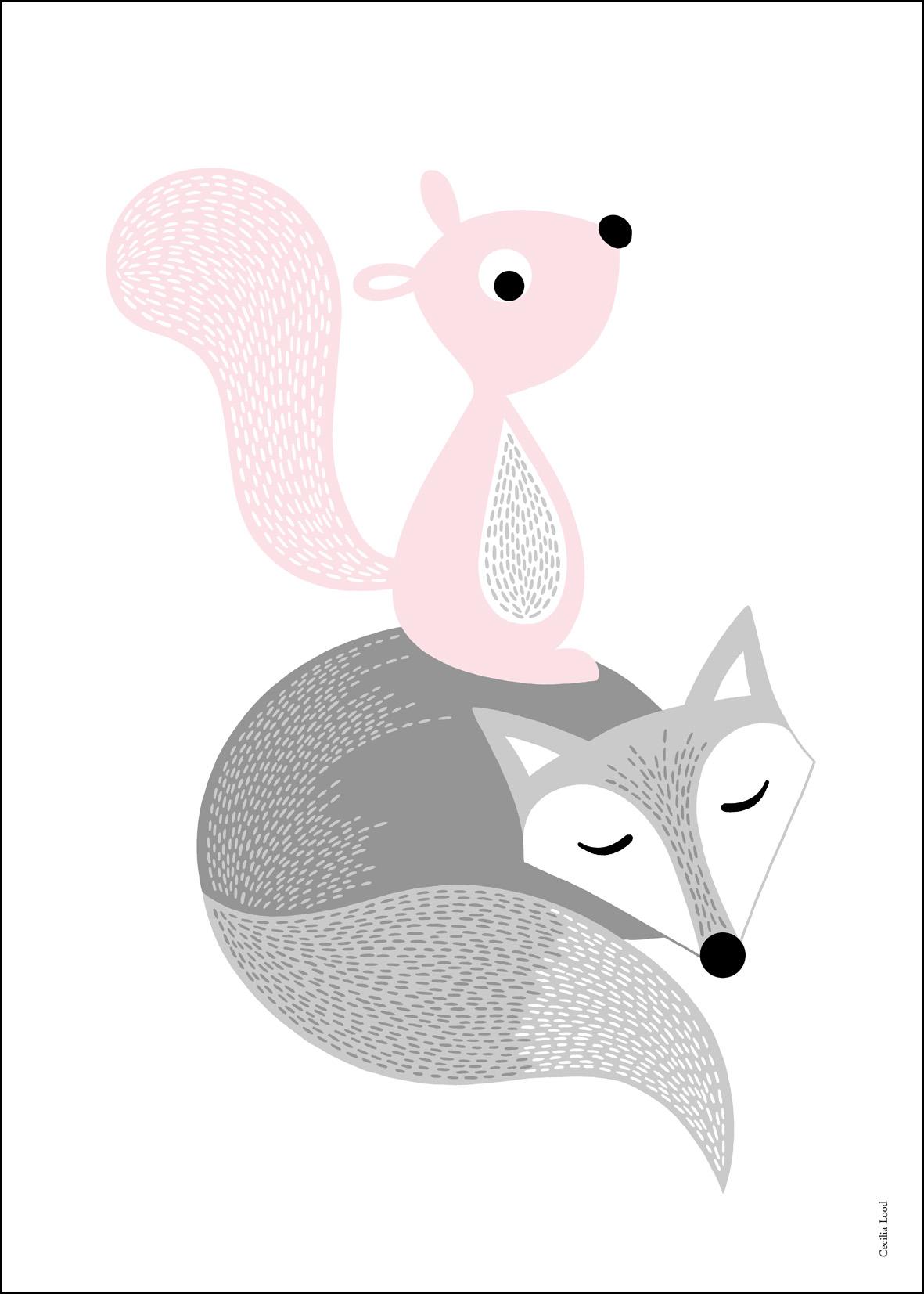 Friends pink