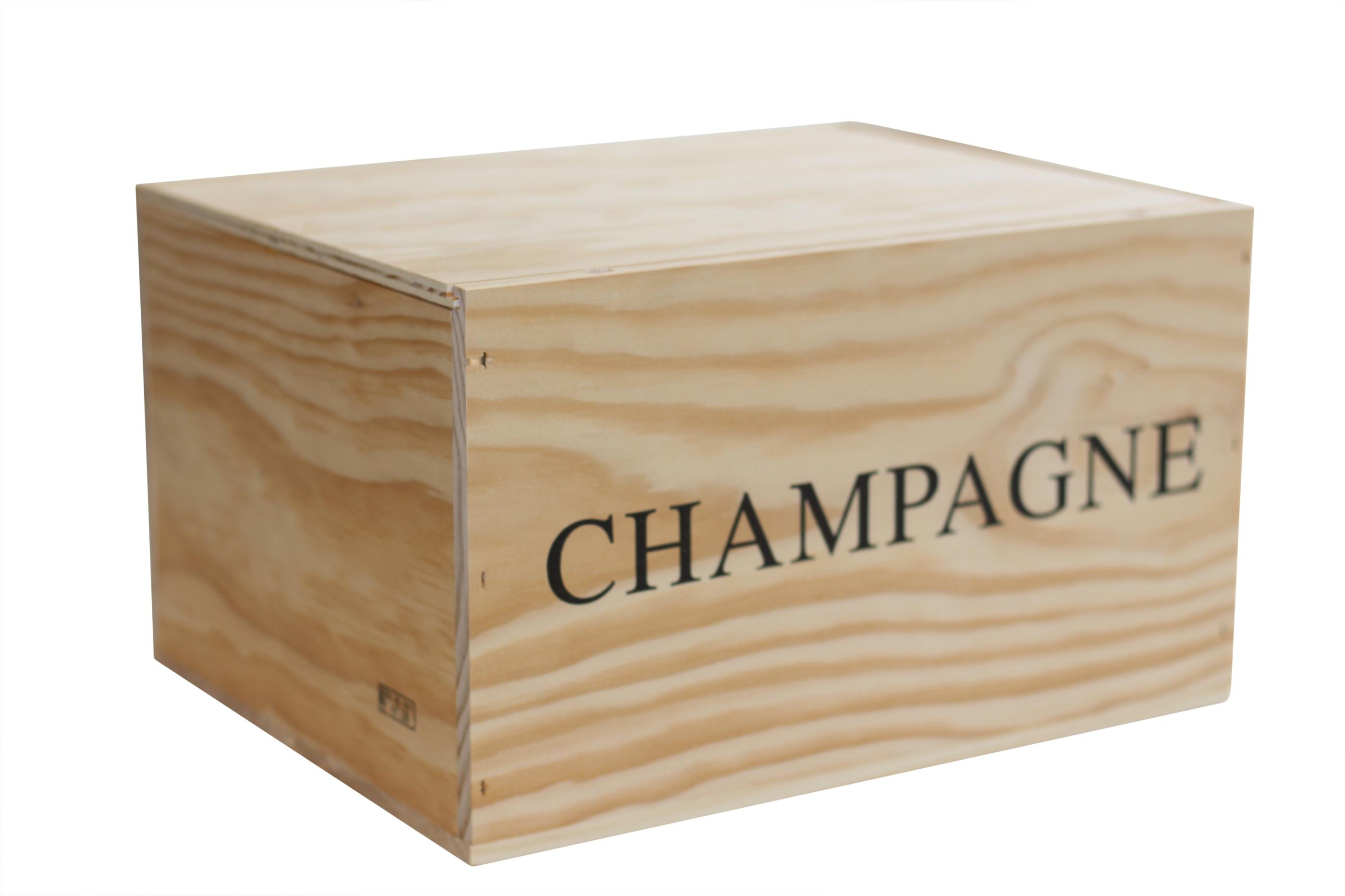 Champagnelåda