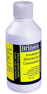 Desinfektionsmedel för äggkläckningsmaskiner -