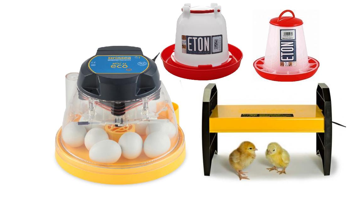 ÄggkläckningsmaskinmedtillbehörMiniEco