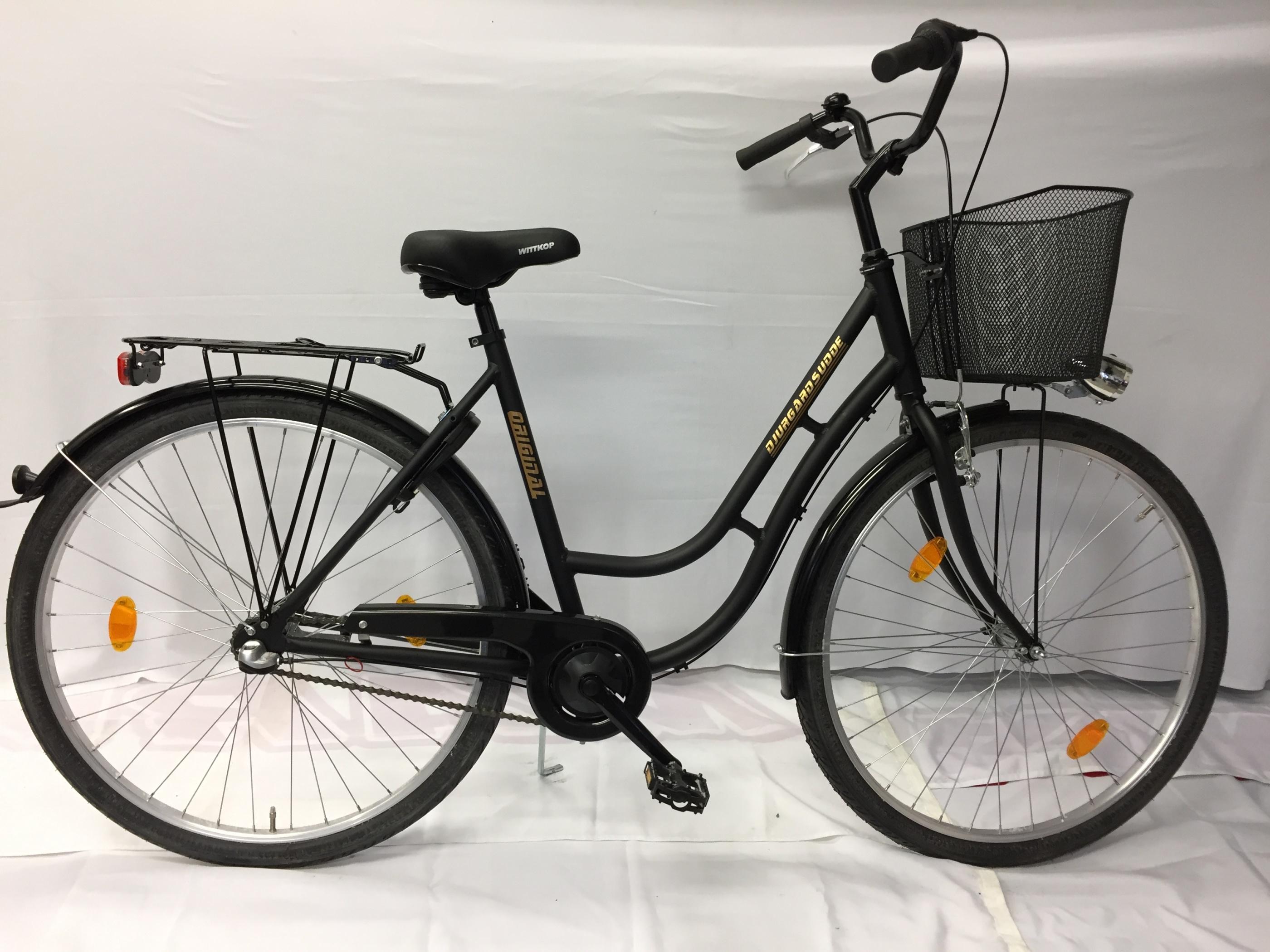 Prisvärd djurgårdsudde cykel dam