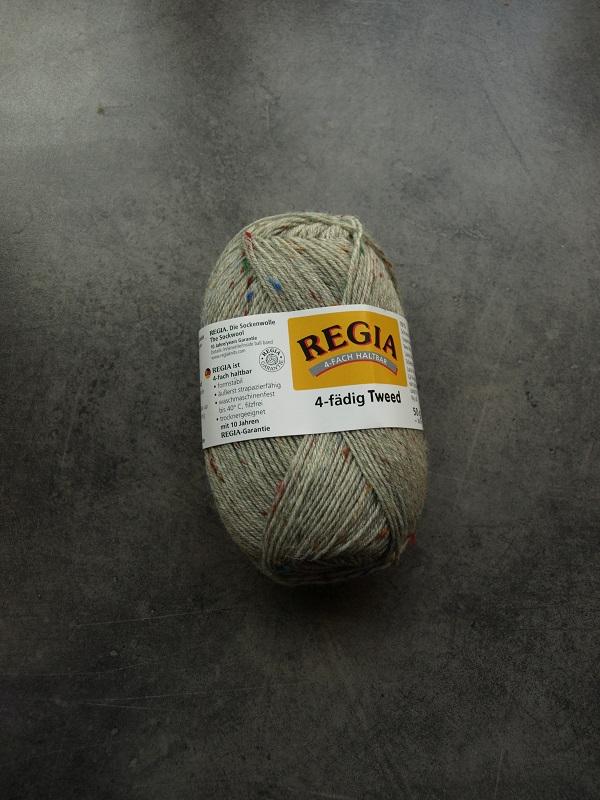 Tweed 50g ljusgrå 0090