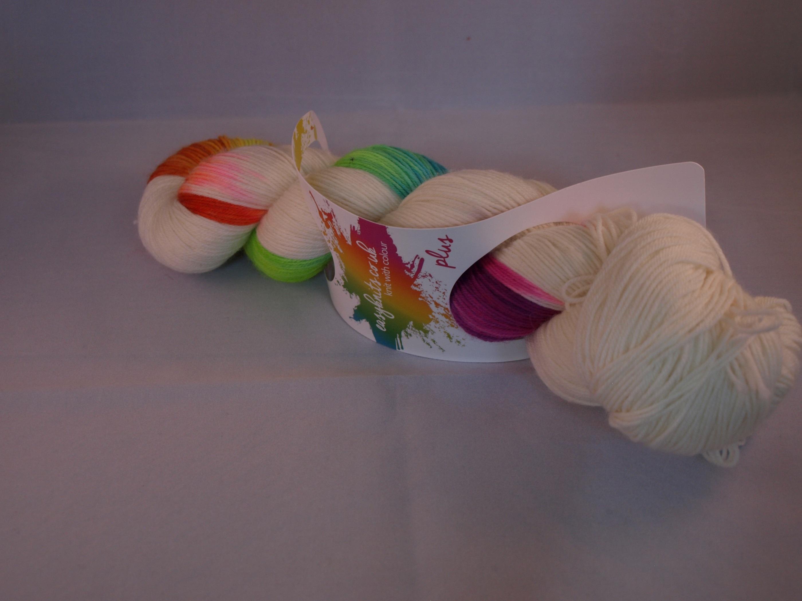 Easyknits Flash Rainbow Blanc