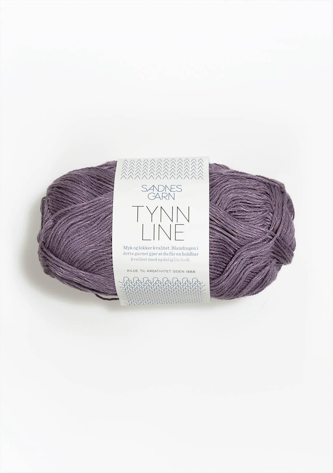 Sandnes tynn line 5052 lila
