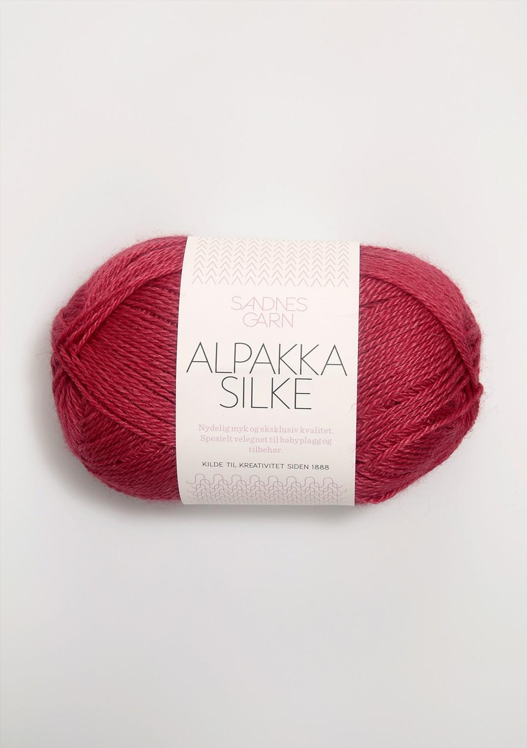 Sandnes alpakka silke 4327