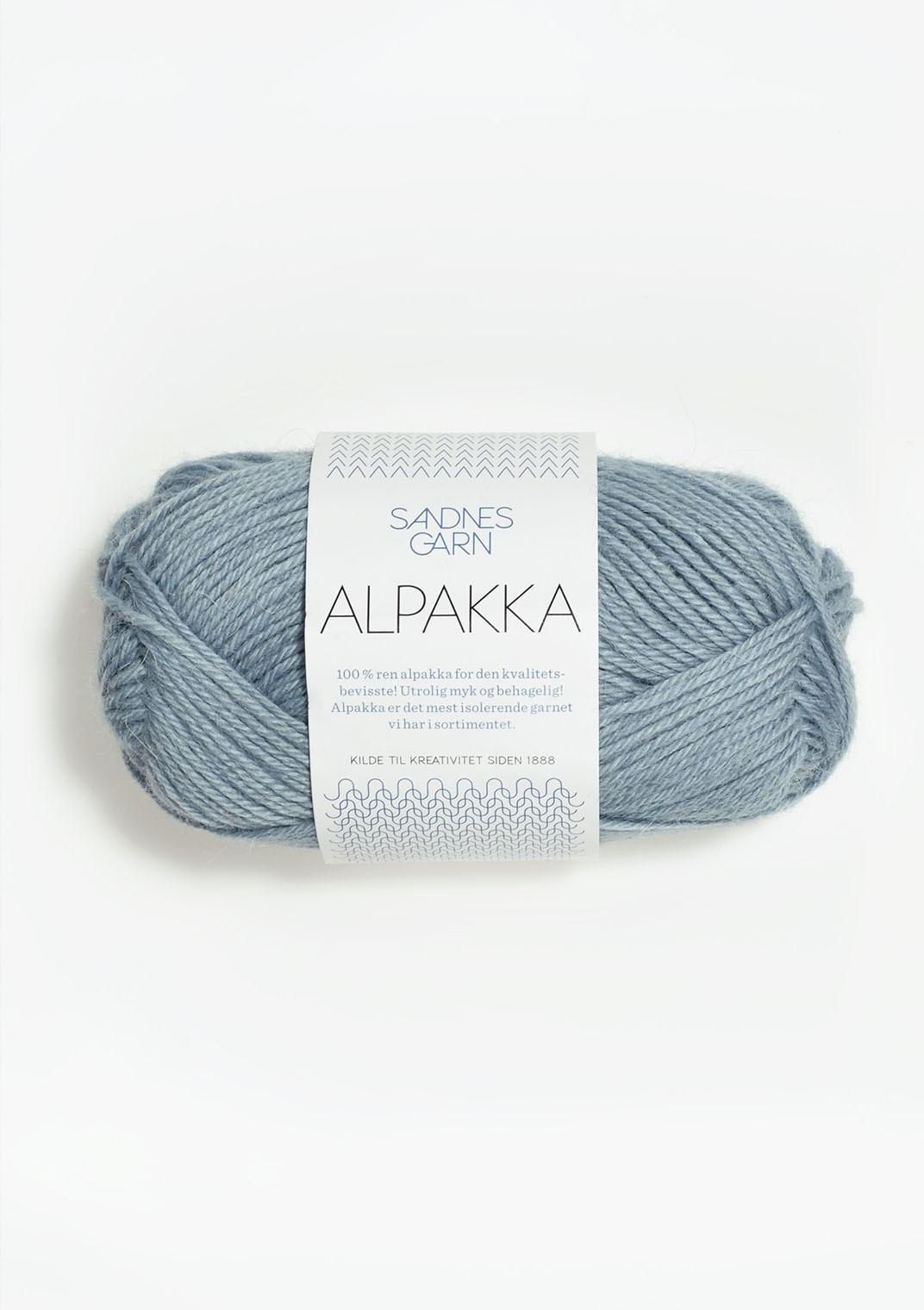 Sandnes alpakka, 6531 isblå