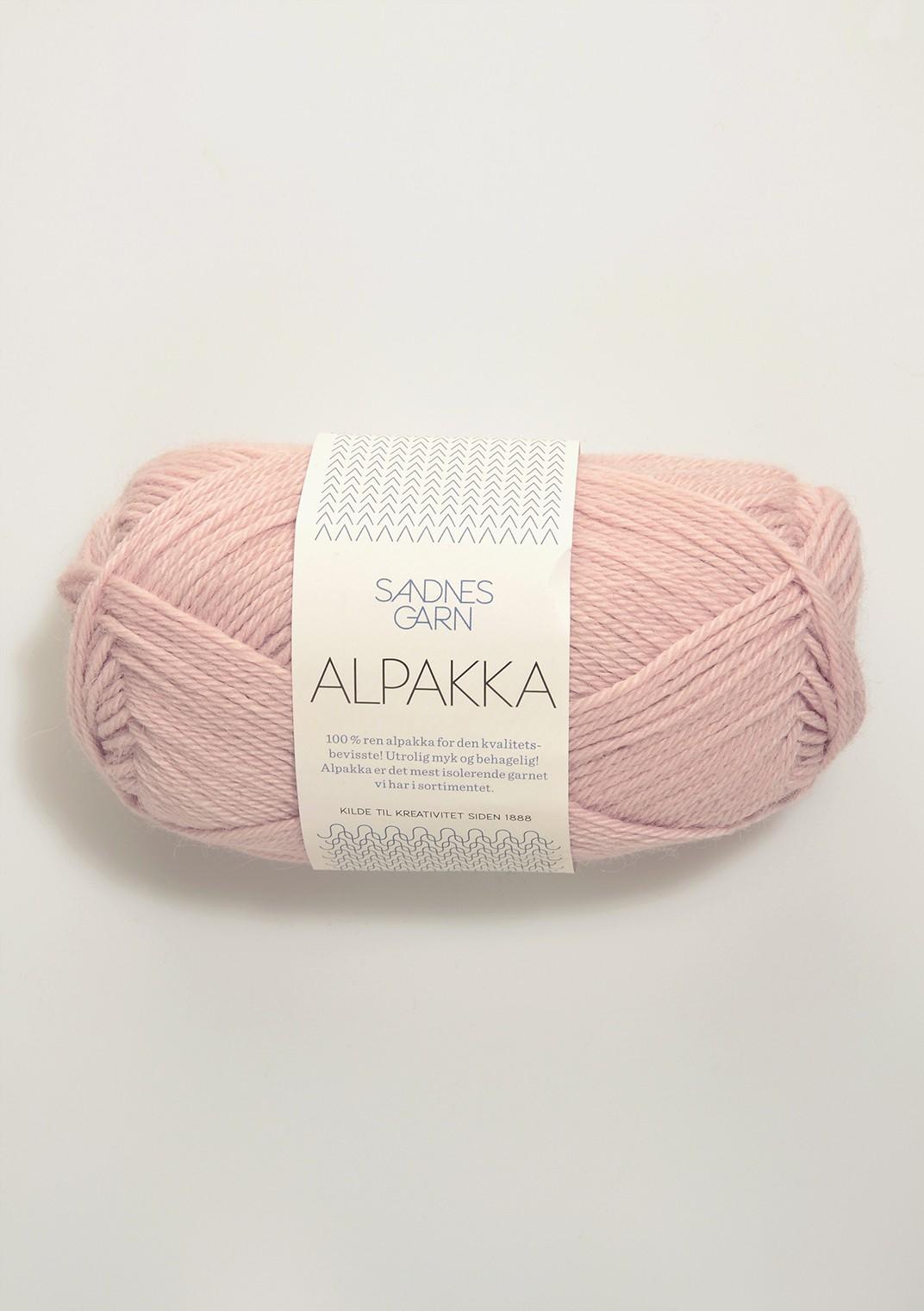 Sandnes alpakka, 3511 rosa