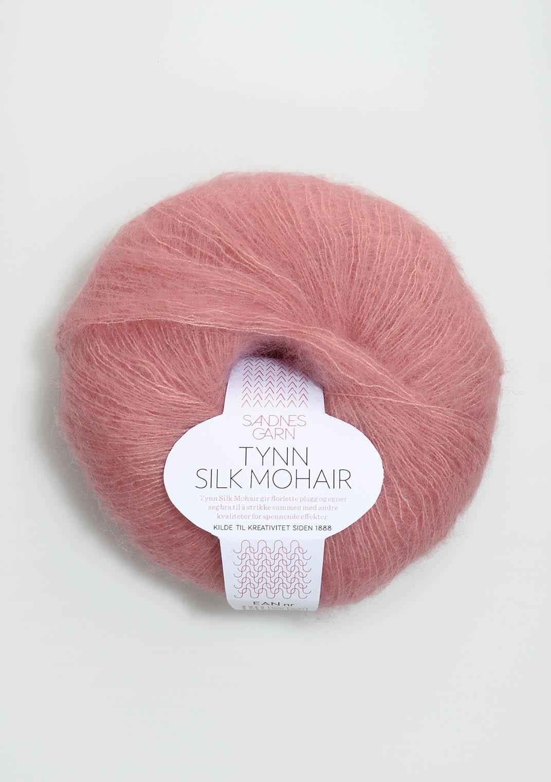 Tynn silk mohair 4323 rosa