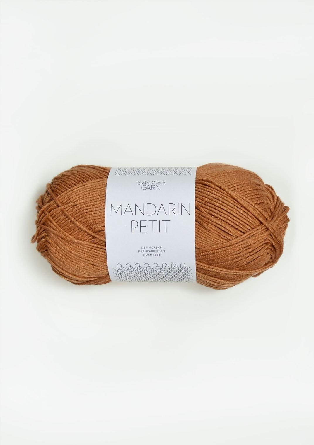 Mandarin petit 2534 gyllenbrun
