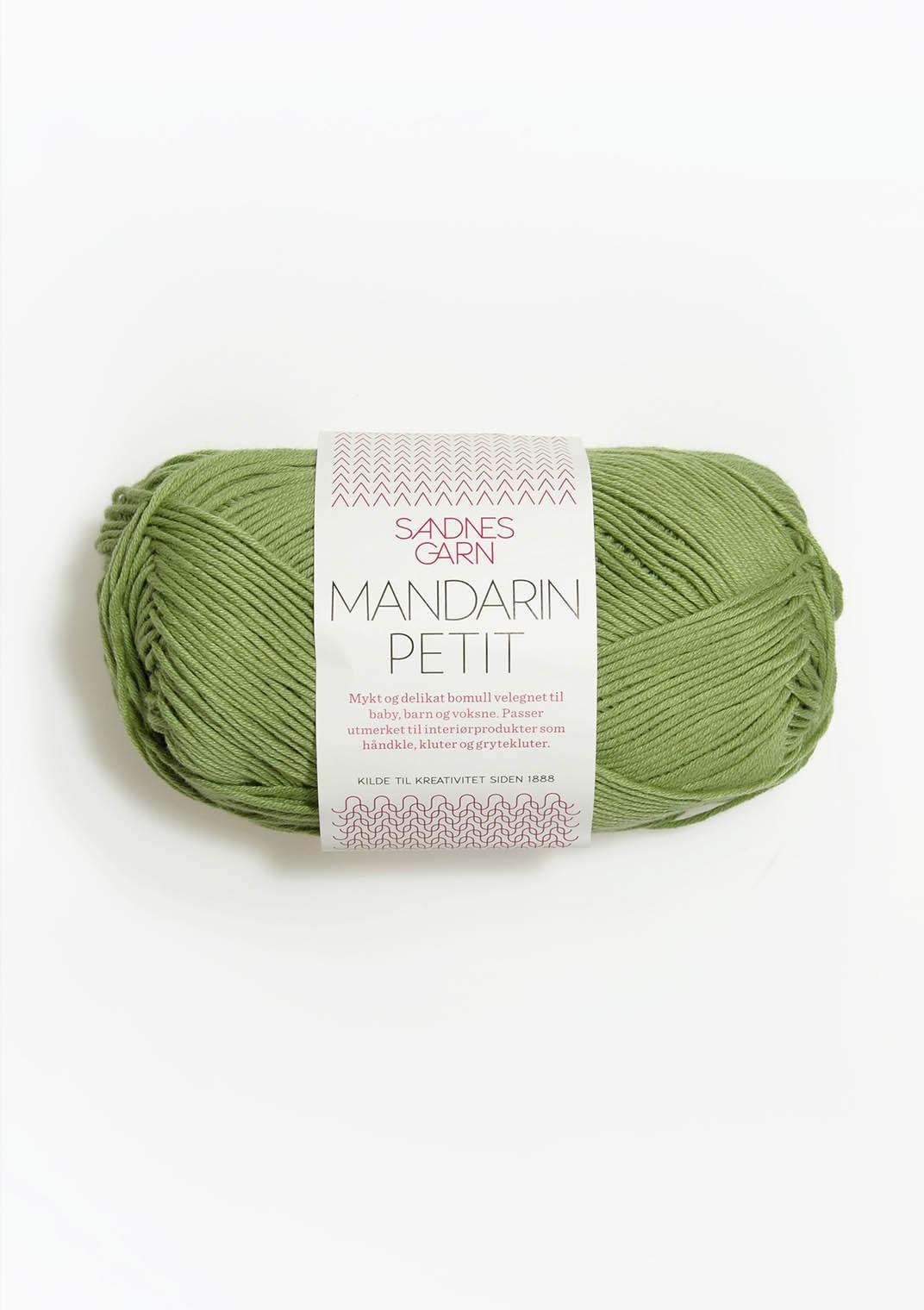 mandarin petit grön 8734