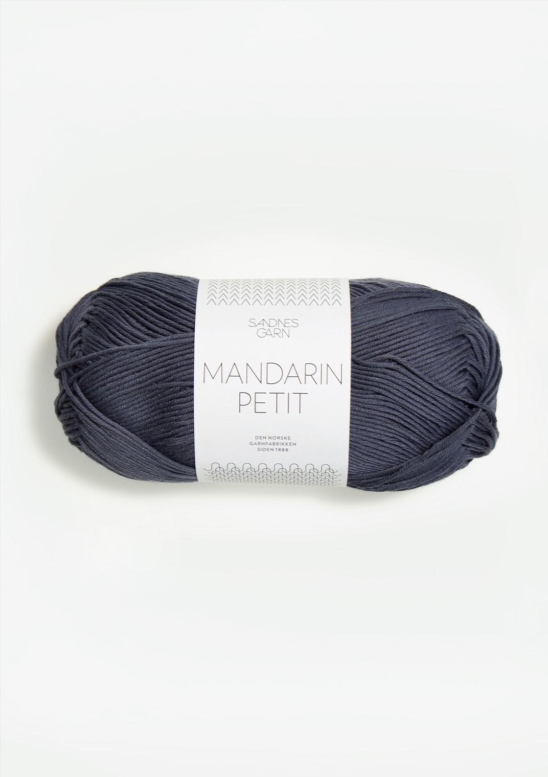 Mandarin petit 6061 Mörk gråblå