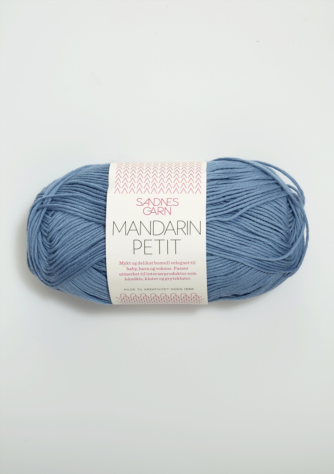 Mandarin petit 9463 jeansblå