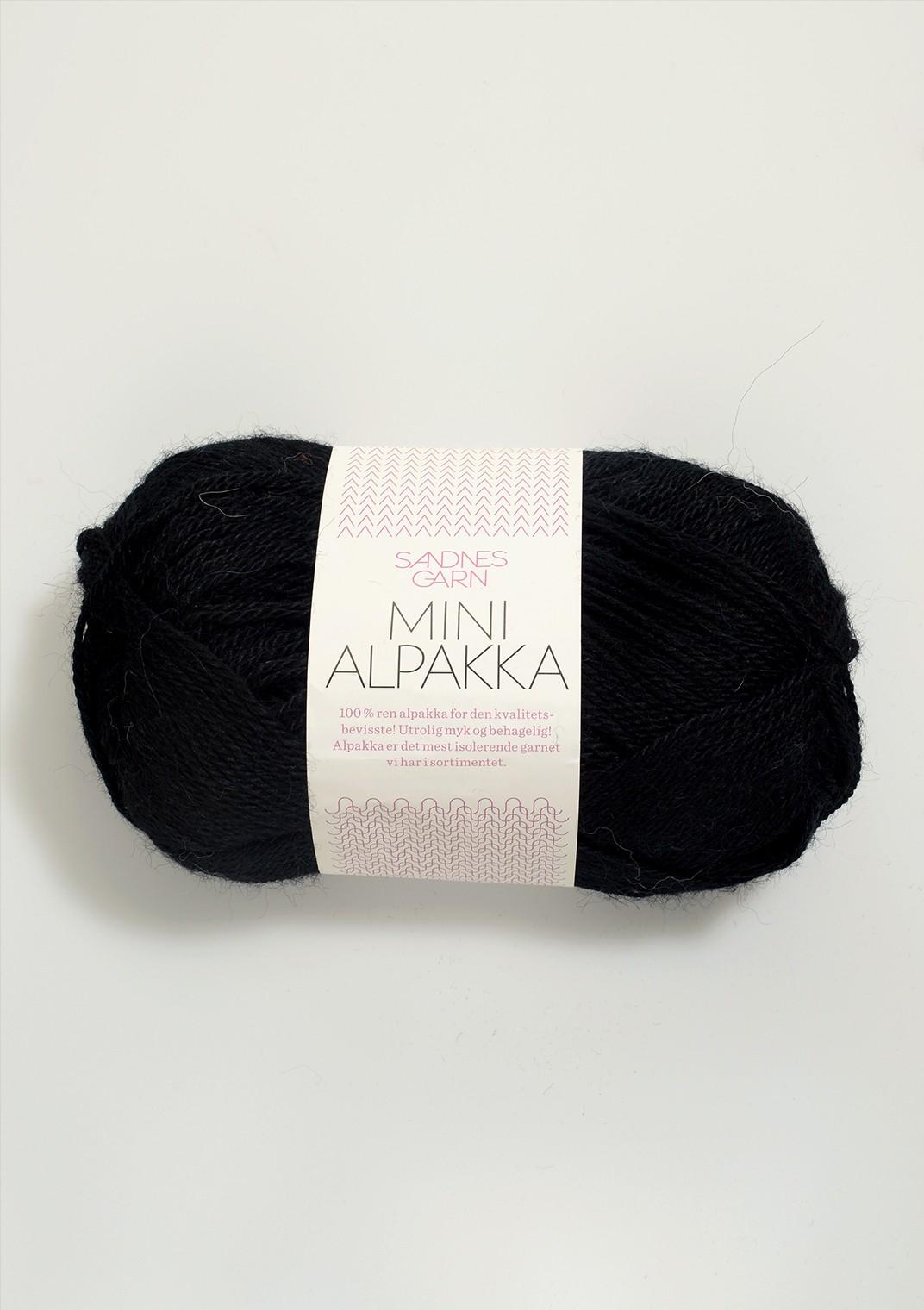 mini alpakka 1099 svart