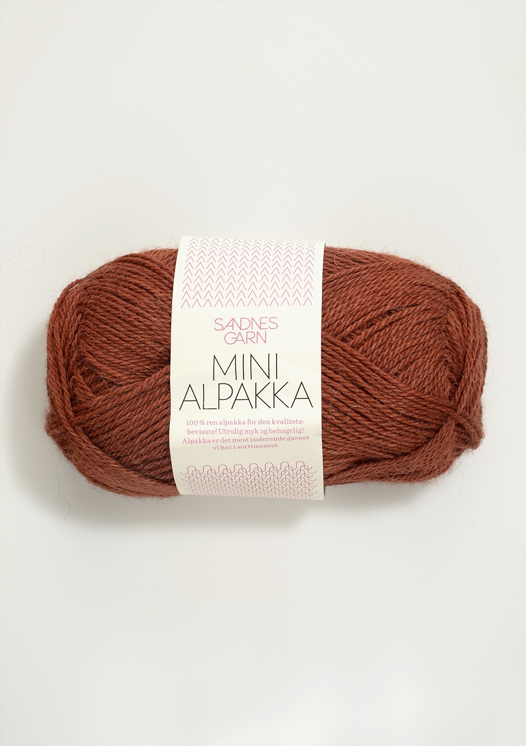 Mini alpakka 3355 rost