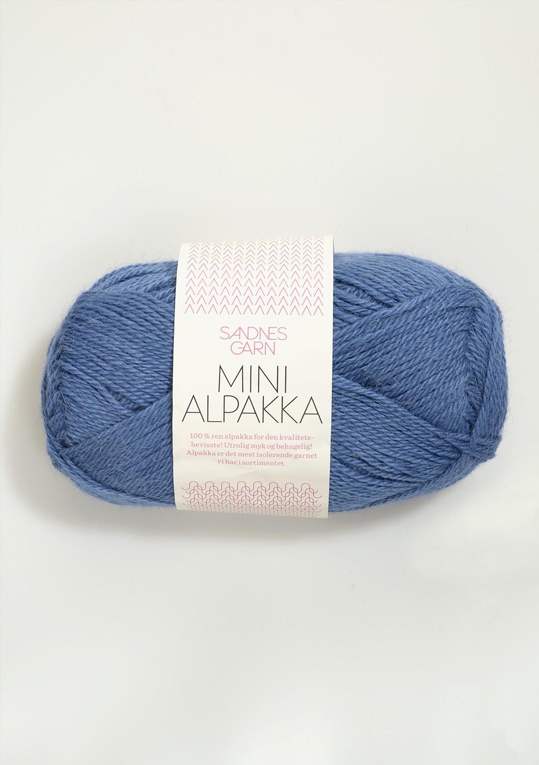 mini alpakka 6053 blå