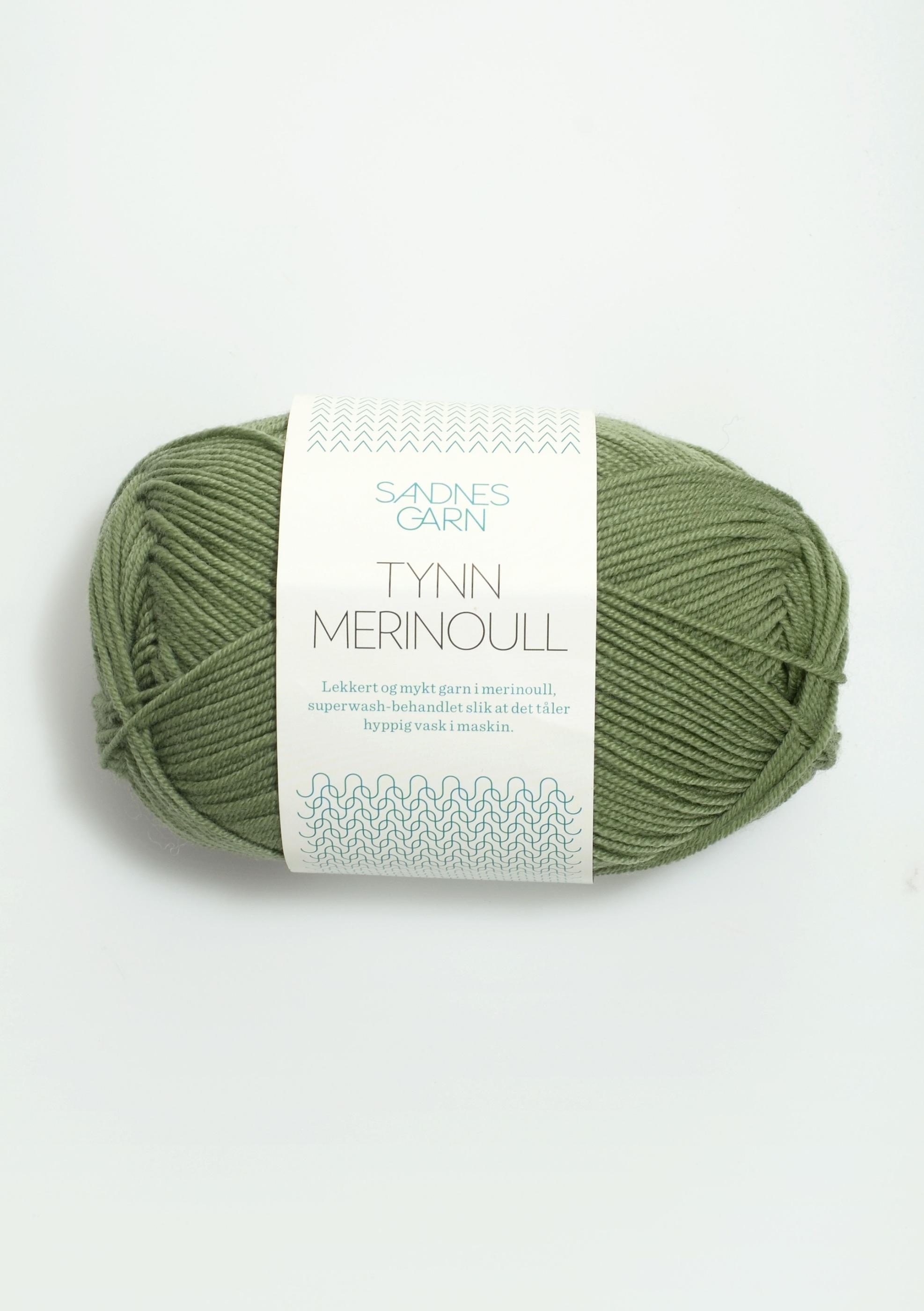 Tynn Merino 8543 grön
