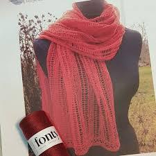 Marias sjal i Fonty Merlin - Marias Sjal mönster